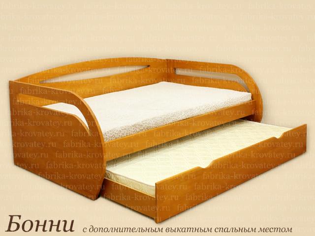 Кровать с выкатным местом